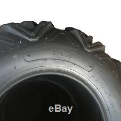 Front Rear 25 ATV / UTV TIRES FULL COMPLETE SET 4 25X8-12 25X10-12