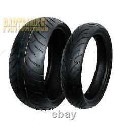 Front Rear Max Motosports Moto Tires 190/50-17 & 120/70-17