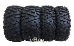 Full Set WANDA ATV/UTV Tire 25x8-12 25x8x12 25x10-12 25x10x12 6PR BIG HORN Style