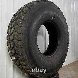 Goodyear Wrangler MT oz 37 12.5R16.5 Military Humvee Mud Truck Tires 90%+ Tread