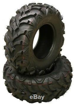 Honda Recon 250 Set 4 ATV Tires 22x7-11 Front 22x10-9 Rear 6PR 10250/10251 Mud