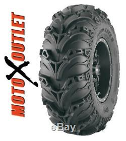 ITP Mudlite II ATV Tires 25x8-12 Front 25x10-12 Rear Set of 4 Mud Lite 2 Two