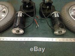 Jazzy Power Wheelchair Gearboxes Motors & TIRES Rc Lawnmower Robotics DIY Segway