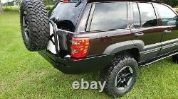 Jeep Grand Cherokee WJ Rear Steel Custom Bumper withTire