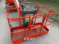 Jlg 450a Series 2 Boom Lift Z Boom 45 Ft Reach Great Tires 500 Lb Basket