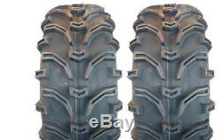 Kenda 25x8X12 25x10X12 Bear Claw Atv Tires Set of 4 Front Rear All Terrain K299