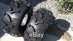 Kenda Executioner ATV Mud Tire 4 TIRE SET (FOUR TIRES) 25x8-12 & 25x10-12 6 PLY