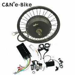 Leili 12000with72v Electric Bike Ebike Fat Tire or Regular Tire Conversion Kit