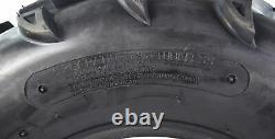 MASSFX MK 4 Set ATV Tires 25x8-12 Fronts 25x10-12 Rears 6 Ply 1/2 Tread Depth
