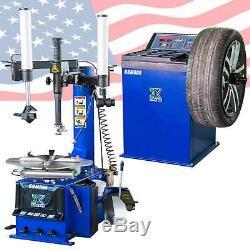 New 988 Tire Changer Wheel Changers Machine Combo 680 Balancer Rim Clamp