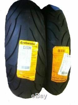New CONTINENTAL CONTI MOTION 120/70-17 180/55-17 Tire Set 120/70zr17 180/55zr17