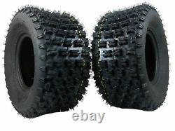 New MASSFX ATV Sports Rear Tires 20x10-9 2 set 4ply 20x10x9 20x10/9