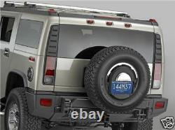 New Original Genuine GM OEM Factory Hummer H2 Spare Tire License Plate Tag Mount