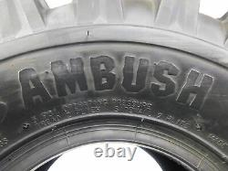 New PAIR (2) 18x10x8 CST AMBUSH SPORT ATV TIRES REAR 18 10 8 raptor honda yamaha