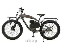PHATMOTO ALL-TERRAIN Fat Tire 79cc Motorized Bicycle