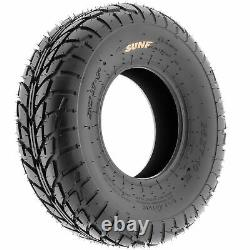 Pair of 2, 19x7-8 19x7x8 Quad ATV All Terrain AT 6 Ply Tires A021 by SunF
