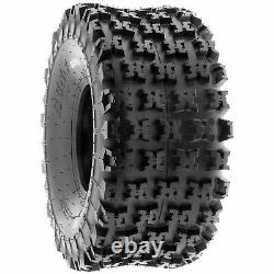 Pair of 2, 20x11-8 20x11x8 Quad ATV All Terrain AT 6 Ply Tires A027 by SunF