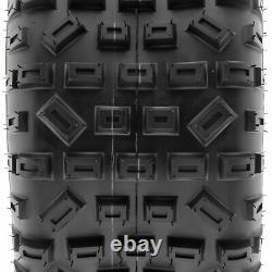 Pair of 2, 20x11-9 20x11x9 Quad ATV All Terrain AT 6 Ply Tires A035 by SunF