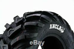 Polaris Sportsman 400 500 600 700 800 25 Cst Maxxis Ancla Atv Set Of Four Tires