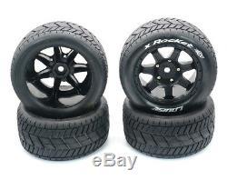 Road Tires Broadened Waterproof Tire Wide Wheel for Traxxas X-MAXX XMAXX 210100