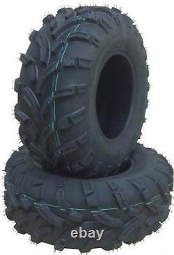 Set of 2 New WANDA ATV UTV Tires 25x11-12 25x11x12 P373A 6PR 10253 Mud