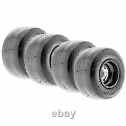 Set of 4, 10x4.5.00-5 10x4.5.00x5 Go Kart Slick Racing 4 Ply Tires K001 by SunF