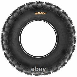 Set of 4, 21x7-10 & 20x11-9 Replacement ATV UTV 6 Ply Tires A027 by SunF
