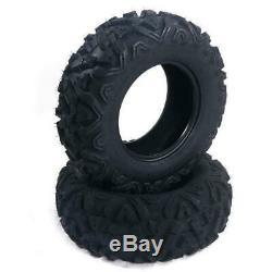 Set of(4) 26x9-12 26x11-12 Front Rear millionparts ATV UTV Tires
