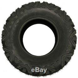 Set of 4 New ATV Tires AT 27x9-12 Front & 27x10-12 Rear /6PR P350 10170/10172