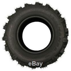 Set of 4 premium ATV Tires 26x9-12 Front 26x12-12 Rear 6PR Mud Ultra Deep Tread