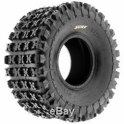 SunF 20x10-9 ATV Tires 20x10x9 AT Race Tubeless 6 PR A027 Set of 2