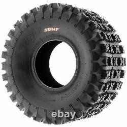 SunF 20x11-8 ATV Tires 20x11x8 AT Race Tubeless 6 PR A027 Set of 2