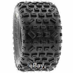 SunF 20x11-9 ATV Tires 20x11x9 MX XC Tubeless 6 PR A035 Set of 2