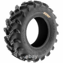 SunF 22x11-9 ATV Tires 22x11x9 Mud Tubeless 6 PR A024 Set of 2