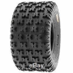 SunF 22x11-9 ATV Tires 22x11x9 Race Tubeless 6 PR A031 Set of 2