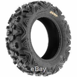 SunF 24x8-12 24x10-11 A/T ATV Tires 6 PR Tubeless POWER I A033 Bundle