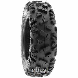 SunF 25x10-12 ATV UTV Tires 25x10x12 All Terrain 6 PR A033 POWER I Set of 2