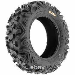 SunF 25x11-10 ATV UTV Tires 25x11x10 All Terrain 6 PR A033 POWER I Set of 2