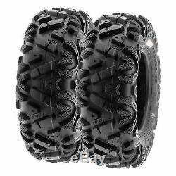 SunF 26x8-12 26x10-12 A/T ATV UTV Tires 6 PR Tubeless POWER I A033 Bundle