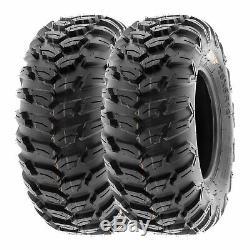 SunF 26x9R12 26x11R12 All Terrain ATV UTV Radial Tires 6 PR A043 Bundle