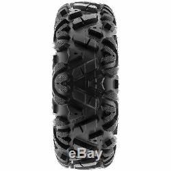 SunF 27x9-14 27x11-14 A/T ATV UTV Tires 6 PR Tubeless POWER I A033 Bundle