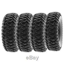 SunF 30x10R14 30x10x14 Tubeless 30 ATV UTV Tires 8 Ply A045 Set of 4