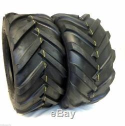 TWO- 26x12.00-12 Deestone 8 PR D408 Super Lug Tires PAIR AG 26x12-12 26 12 12