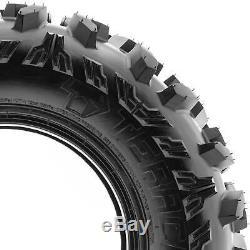 Terache 28x9-12 28x11-12 A/T ATV UTV Tires 8 PR TE-AT Bundle