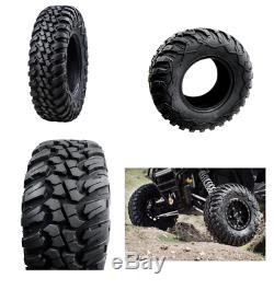 Tusk Terrabite Radial ATV UTV Tire Kit Set Of Four 4 Tires 28 x 10-14