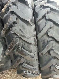Two 13.6x38, 13.6-38 8 Ply FARMALL H DEERE A AN B Tube Type Tractor Tires