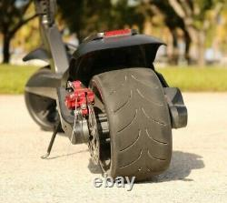 WIDE WHEEL W1 10.4ah 500W 48V Folding Electric Kick Scooter Fat Tire Max Speed