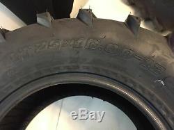 Yamaha 400 Big Bear 4WD 2007-2013 MASSFX MS 25 ATV Tires 25x8-12 25x10-12 4Set
