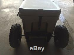 Yeti Cooler 45 Wheel Tire Axle Kit THE HANDLE Accessory Included-NO COOLER